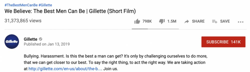 """Gillette Loses Billions Following Widely Mocked """"Toxic"""