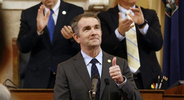 virginia s democrat governor ralph northam says he s working on a gun confiscation plan
