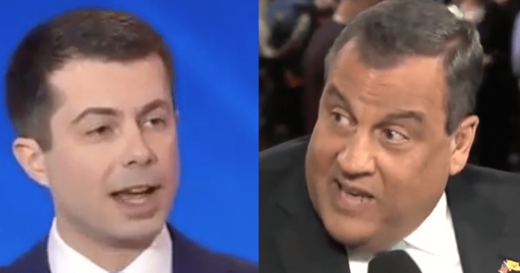 """WATCH: Chris Christie Blasts Buttigieg For """"Outright Lying About His Record"""""""