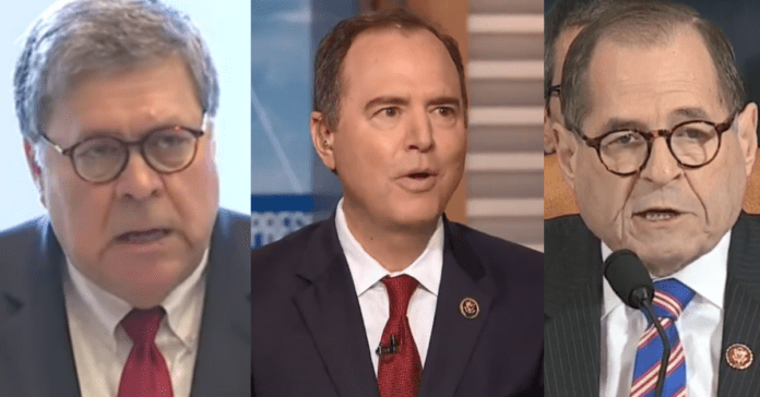 Adam Schiff and Jerry Nadler Attack Bill Barr, Demand Review Of AG's Conduct