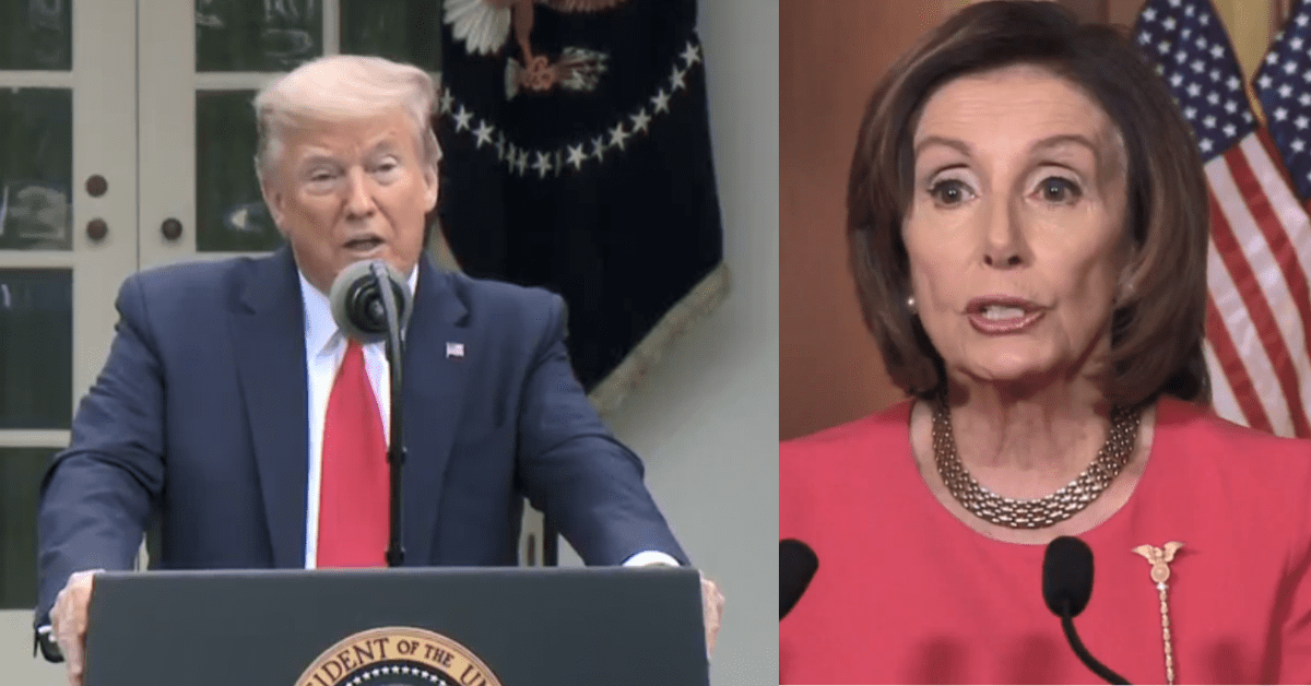 Trump Calls For Pelosi's Overthrow After She Called Him Weak On ...