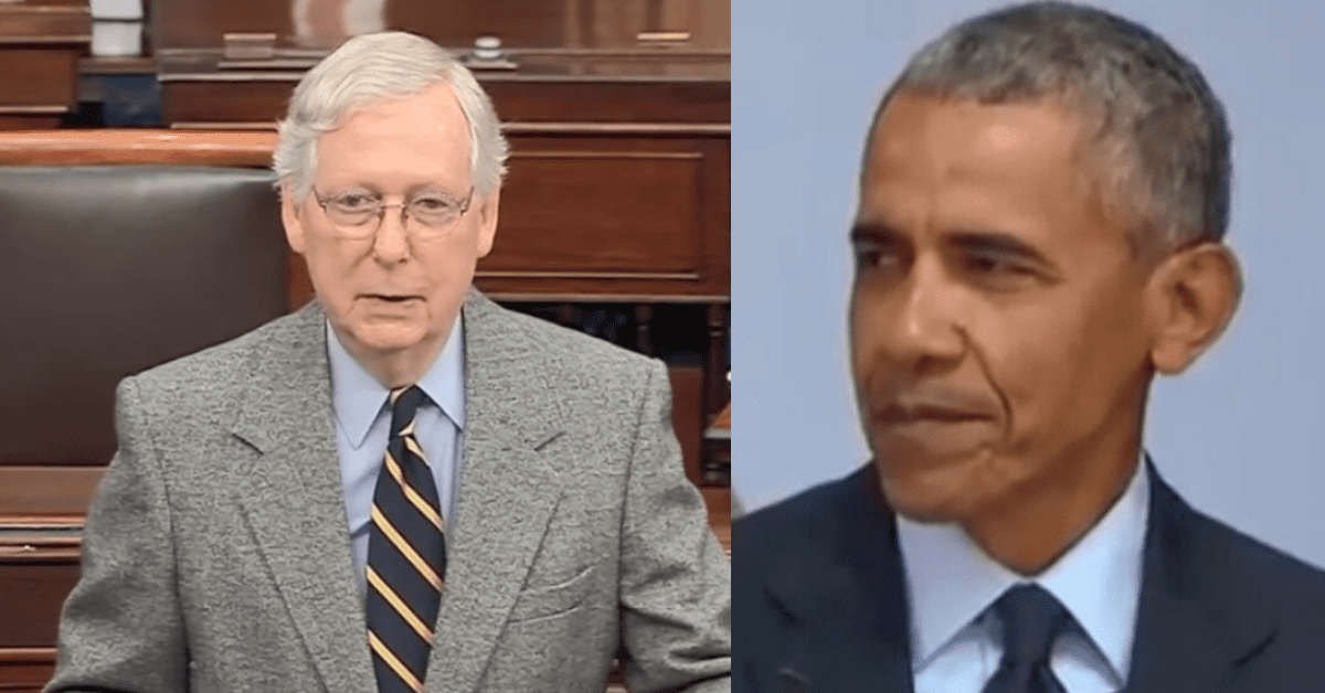 "Mitch McConnell Rips Barack Obama: ""Classless, should have kept ..."
