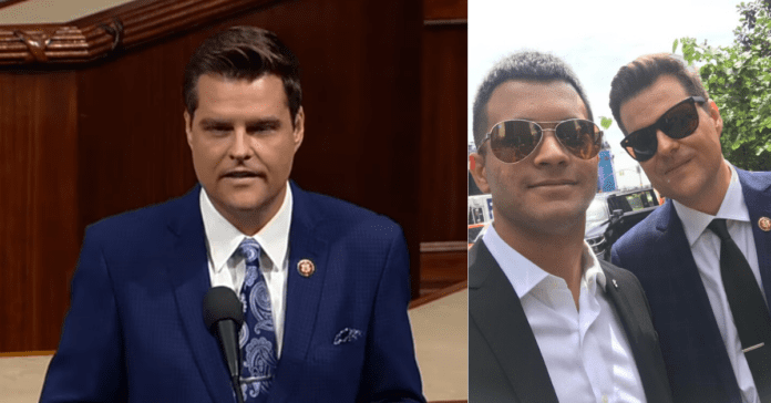 Matt Gaetz Reveals Secret Cuban Son To Shame Dems Who Tried To Say GOP Don't Care About Non-White Kids