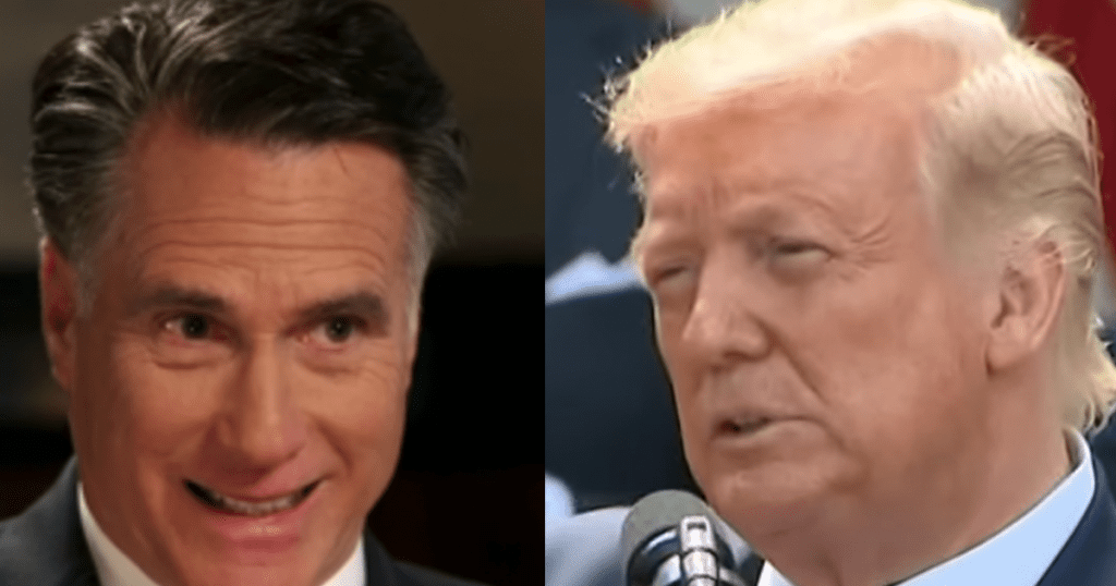 Romney breaks with Trump, defends voting by mail in new interview