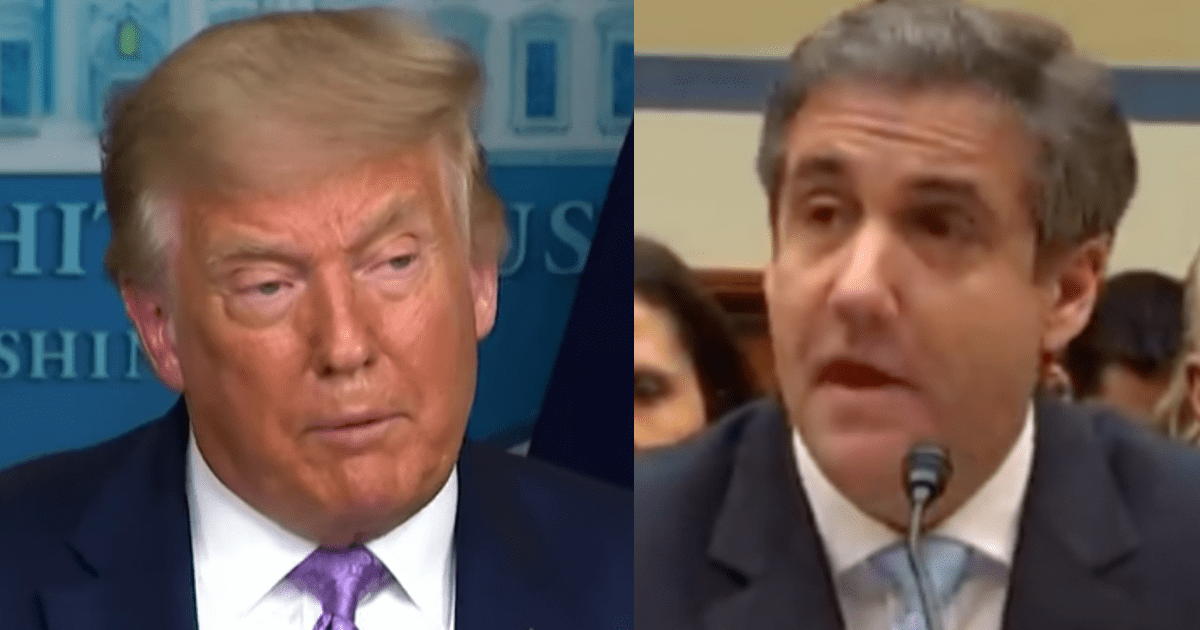 """MIchael Cohen claims Trump is only bluffing about a 2024 run due to """"his insatiable need for attention"""""""