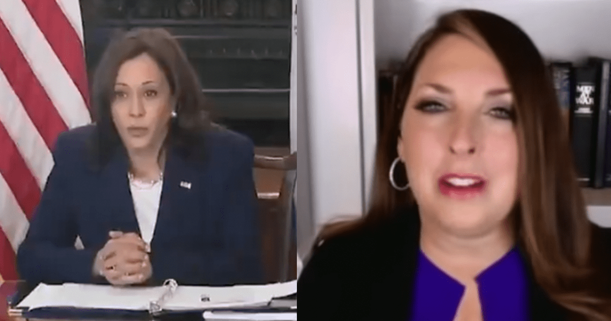 """Ronna McDaniel blasts Harris' handling of the border, says """"Kamala Harris is sending a clear message. She doesn't care"""""""