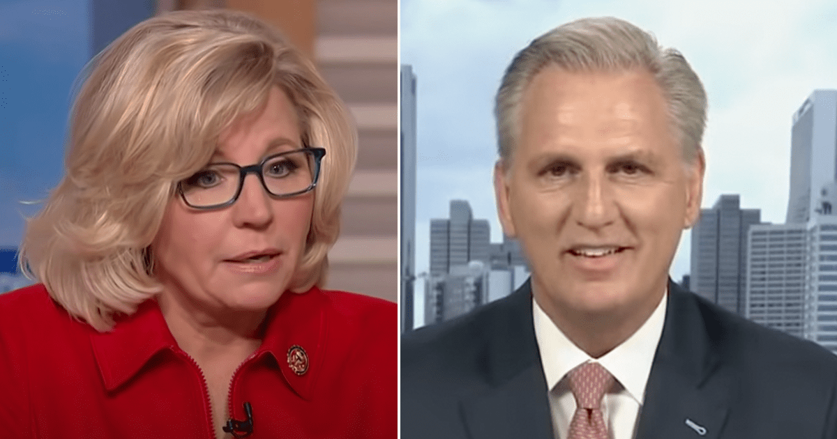 """Liz Cheney responds after McCarthy slams her and Kinzinger as """"Pelosi Republicans"""""""