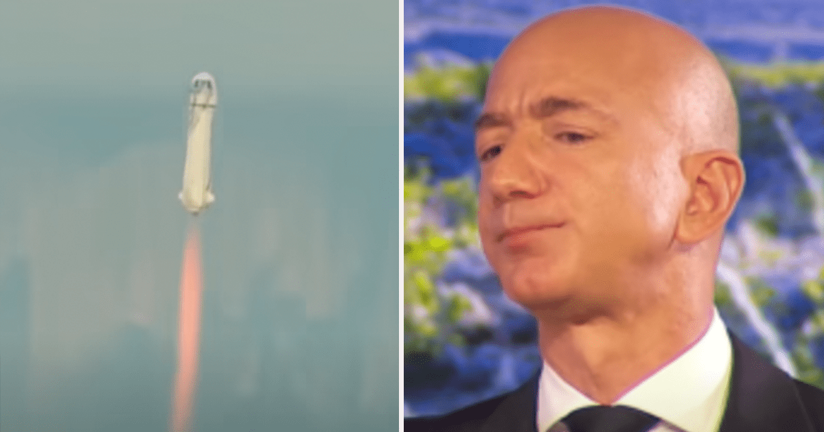 Bezos still not considered an astronaut according to the FAA
