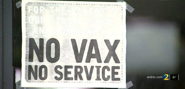 'No VAX No SERVICE' Atlanta restaurant will REFUSE unvaccinated customers: Prove it or GET OUT