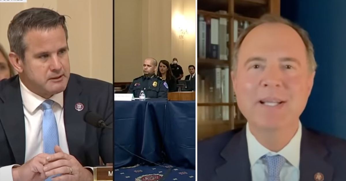 WATCH: Schiff argues without Reps. Jordan, Banks, the Jan. 6th hearing went as it should