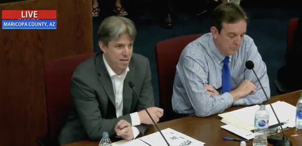 WATCH: Arizona forensic auditors detail the HIGHLY suspicious findings from their audit