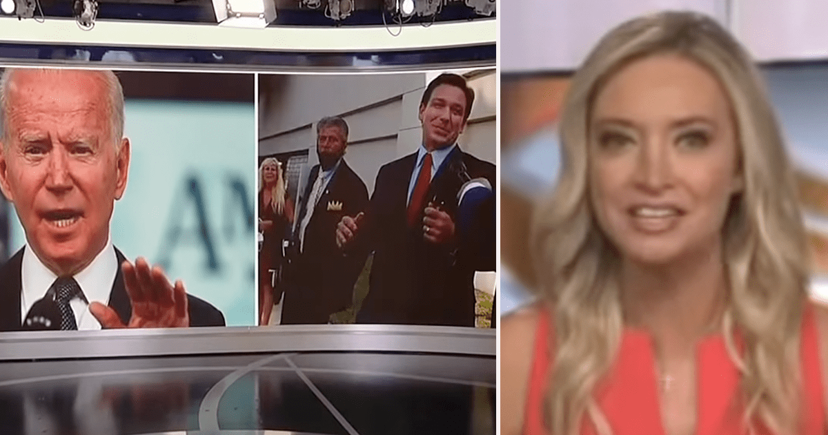 WATCH: Kayleigh reacts to Biden and DeSantis feud, says she can sense Biden's fear as DeSantis gains popularity