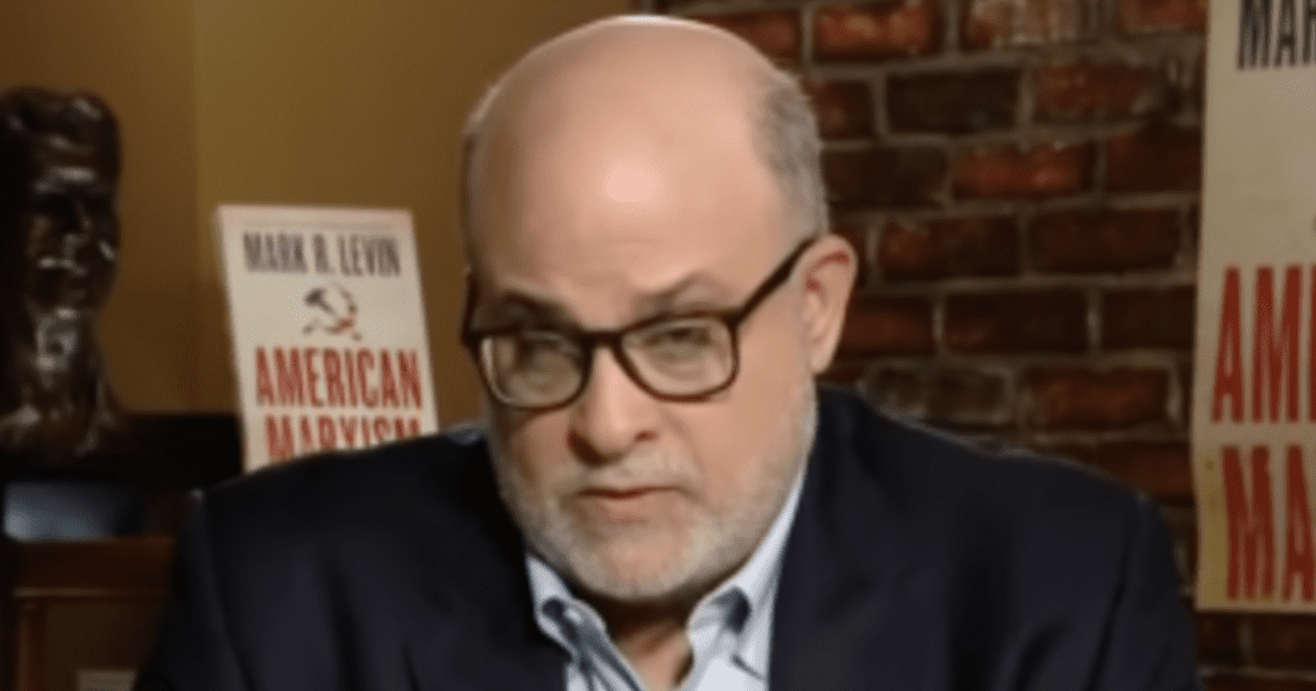 WATCH: Mark Levin declares It's time to combat Marxism and liberate our school systems