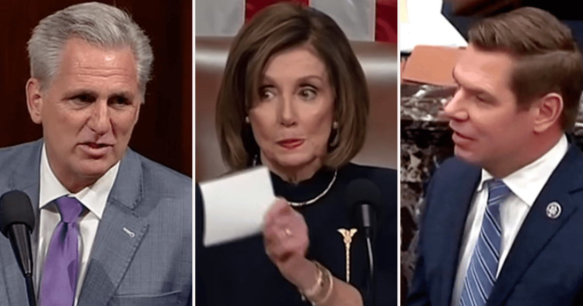 Dems demand McCarthy resign after he makes joke about hitting Pelosi with a gifted Gavel