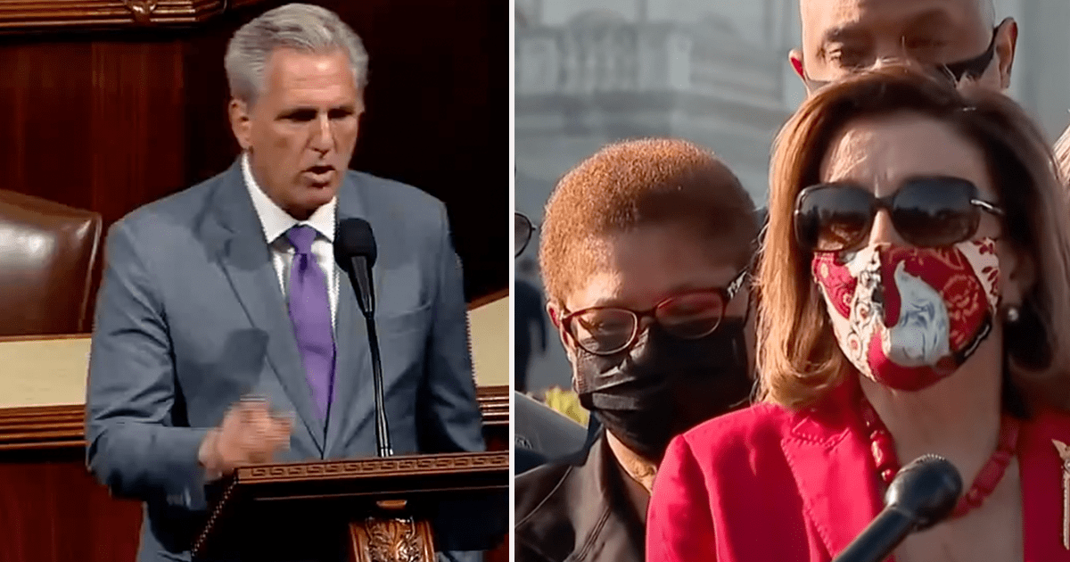 """WATCH: McCarthy """"Mark my words: Democrats' new mask mandates are just the beginning"""""""