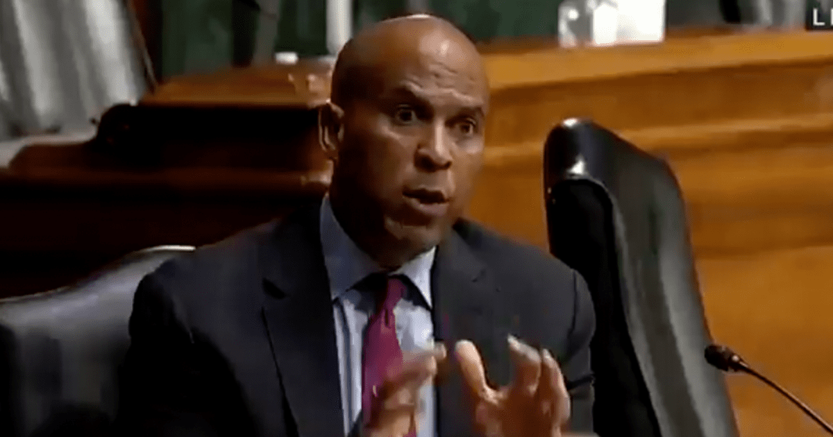 """WATCH: Booker claims sending aid to Afghanistan is """"a strategic leverage that we have over the Taliban"""" into honoring human rights"""