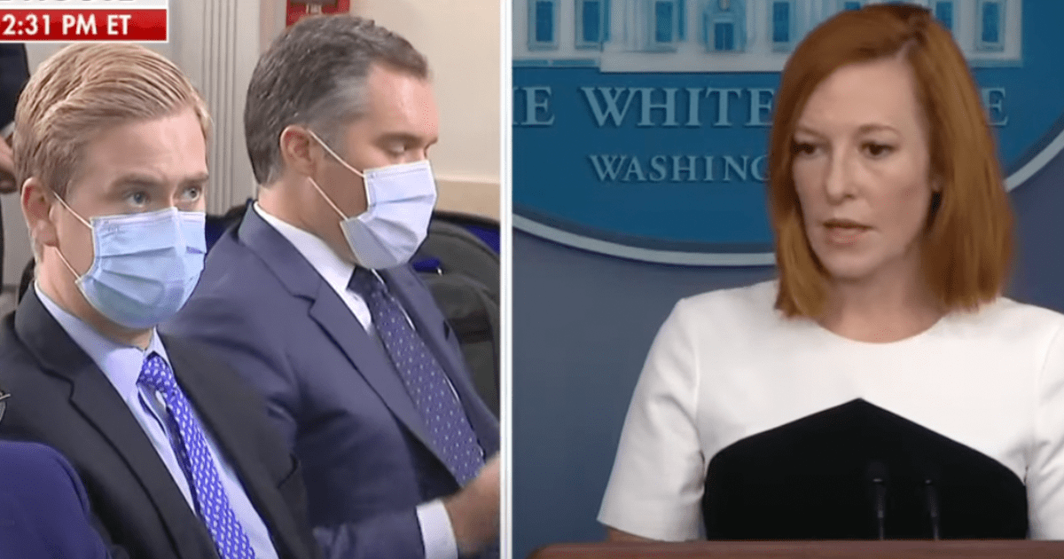 WATCH: Doocy questions Psaki about White House refusal to give migrant numbers