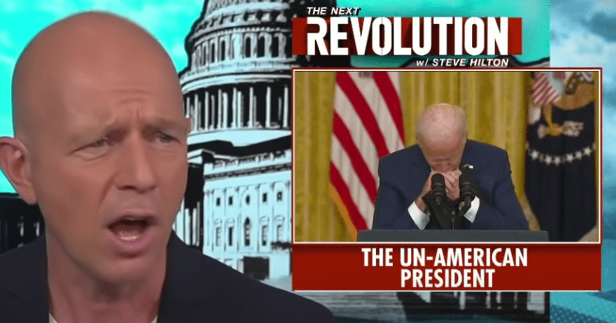 """WATCH: Hilton says the things America stands for are collapsing at an """"astonishing"""" rate because of Biden's incompetence"""