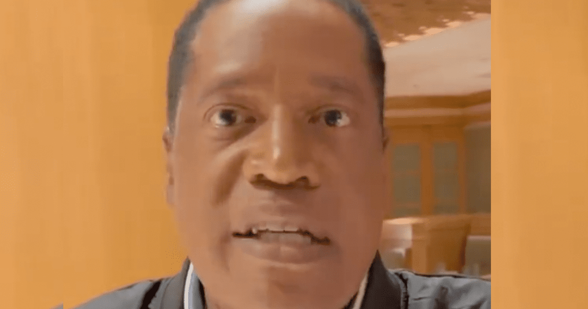 """WATCH: Larry Elder to Californians """"Get Gavin out — VOTE YES!"""""""