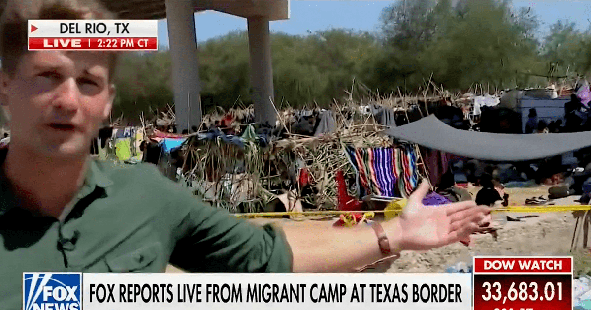 """WATCH: Reporter says border agents """"roll their eyes"""" over Biden admin claim the border is closed"""