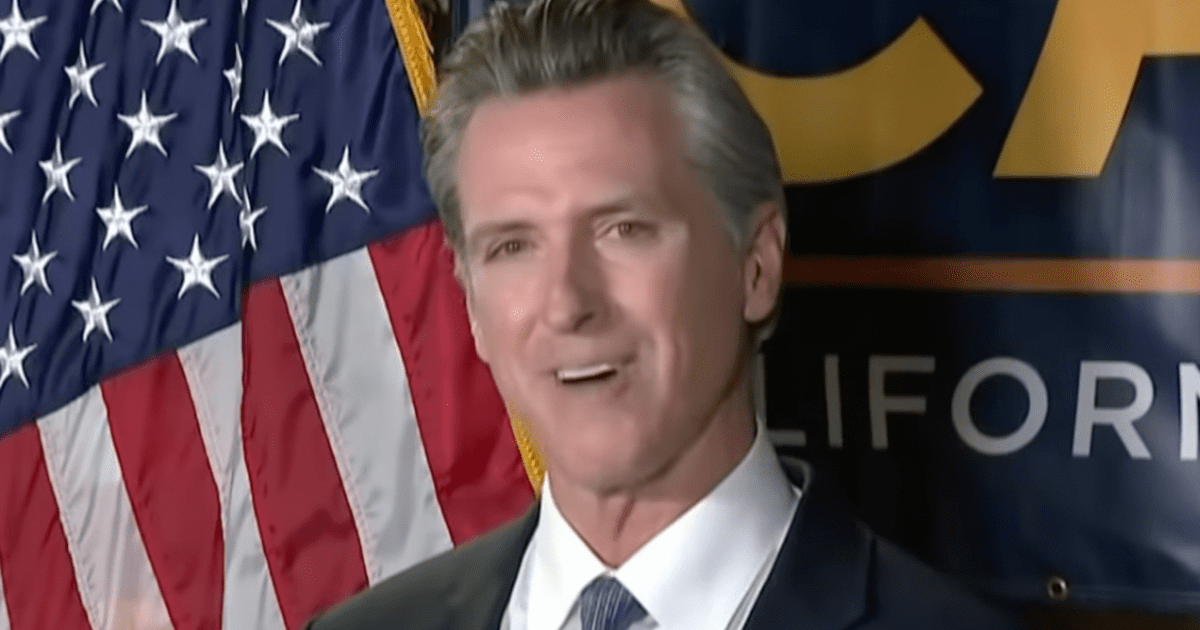 """WATCH: Newsom says during victory speech """"We may have defeated Trump, but Trumpism is not dead in this country"""""""