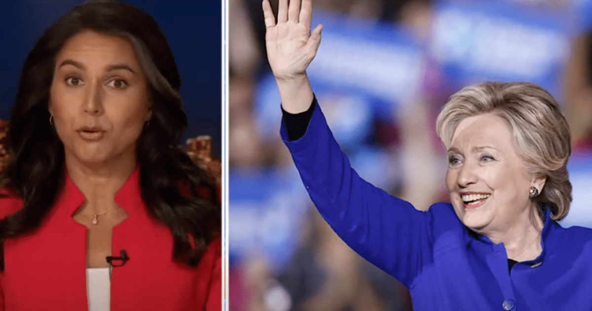 WATCH: Tulsi reacts to Hillary's lawyer being indicted, accuses her of conspiring with media to smear opponents