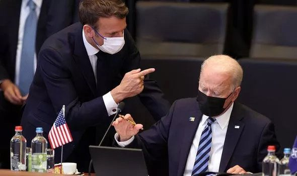 france said biden s move was a  stab in the back