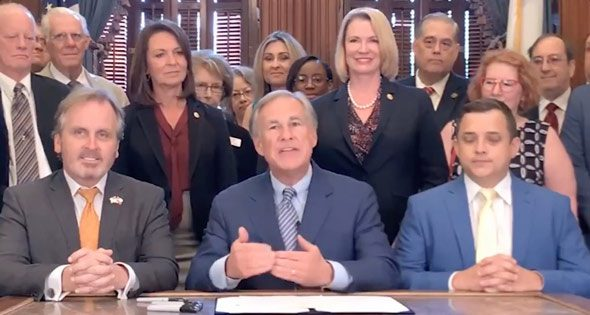 gov  gregg abbott says social media companies will no longer be able to  silence conservative ideas and values  in texas